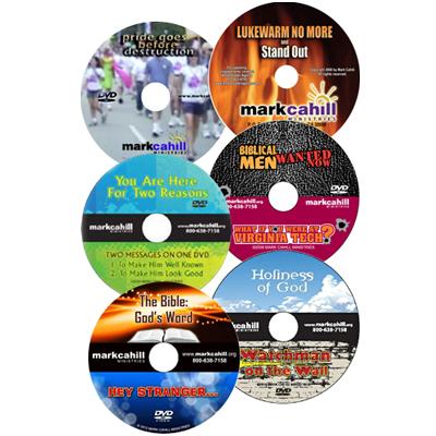 Six-Pak DVD Bundle