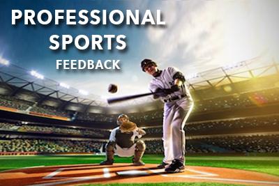 professional sports feedback