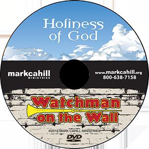 Mark Cahill - Holiness of God - black outline 150