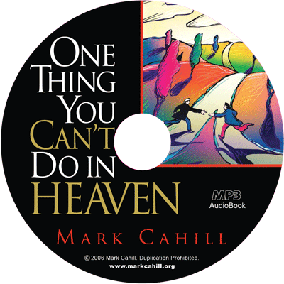One Thing You Can't Do in Heaven – Audiobook Disc