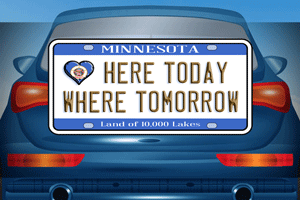 Car-with-License-Tag-Tile300x
