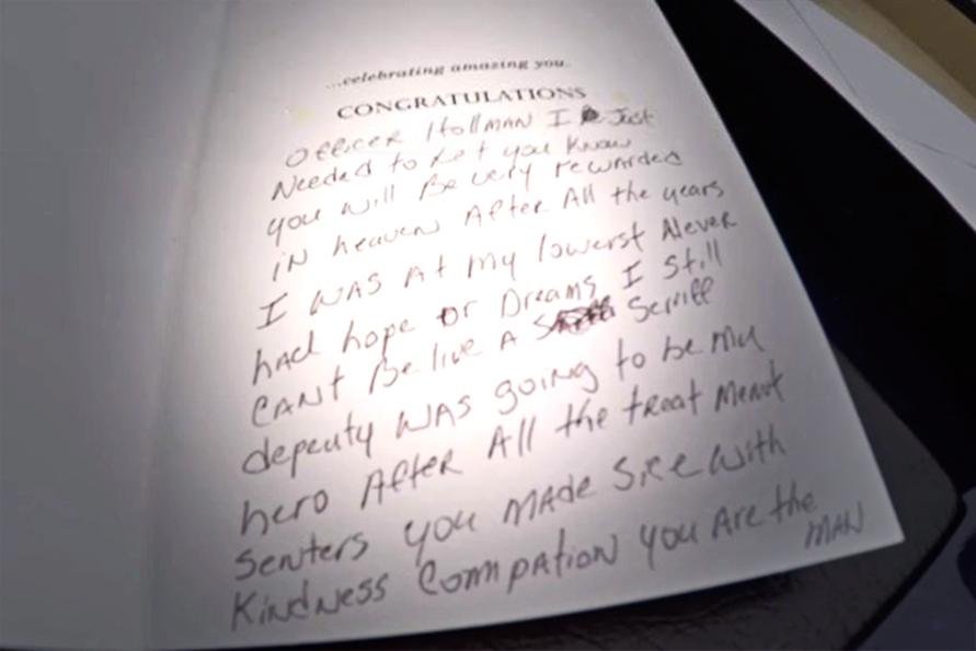 Robert Morris letter