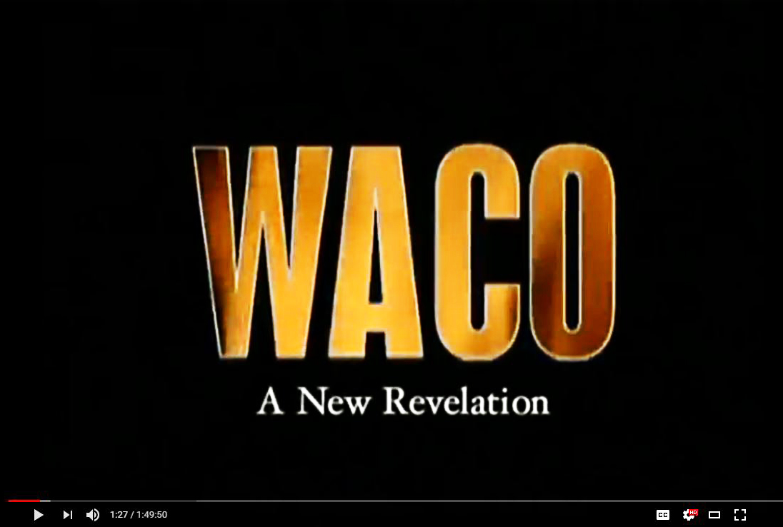 Waco a new revelation