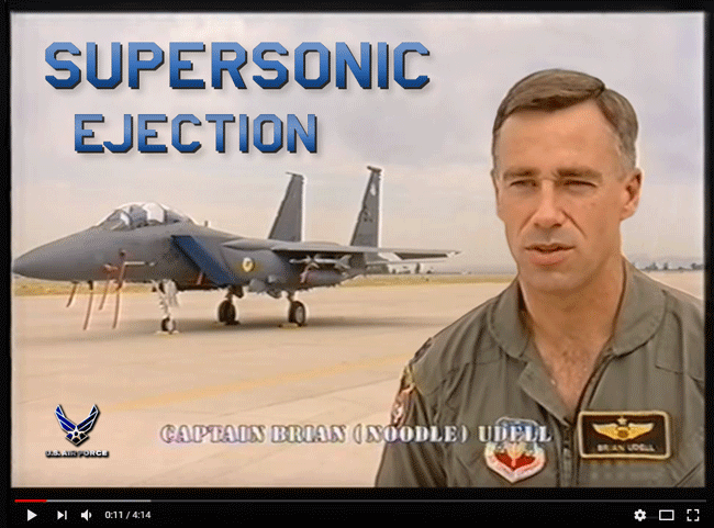 Supersonic-ejection