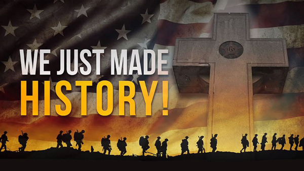 We-just-made-history-banner