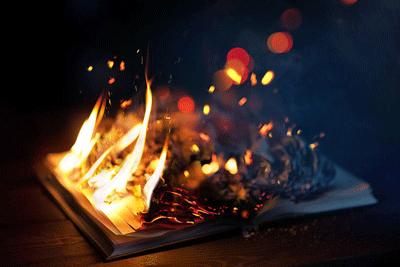 Burning-Bible