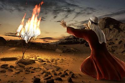 Moses-and-the-Burning-Bush